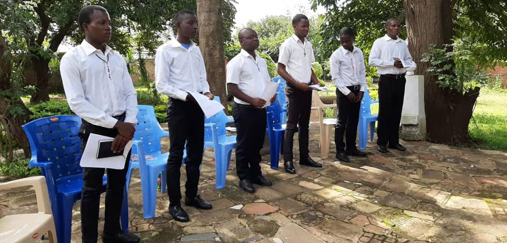 Postulanten in Lilongwe (Malawi)