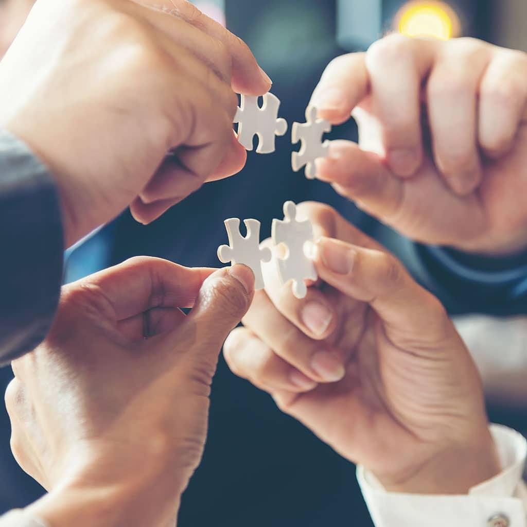 Das Team in katholischen Pfarrgemeinden