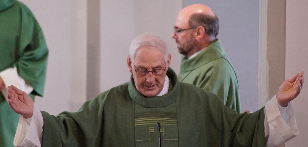 Pater Wilhelm Landwehr SAC wurde verabschiedet