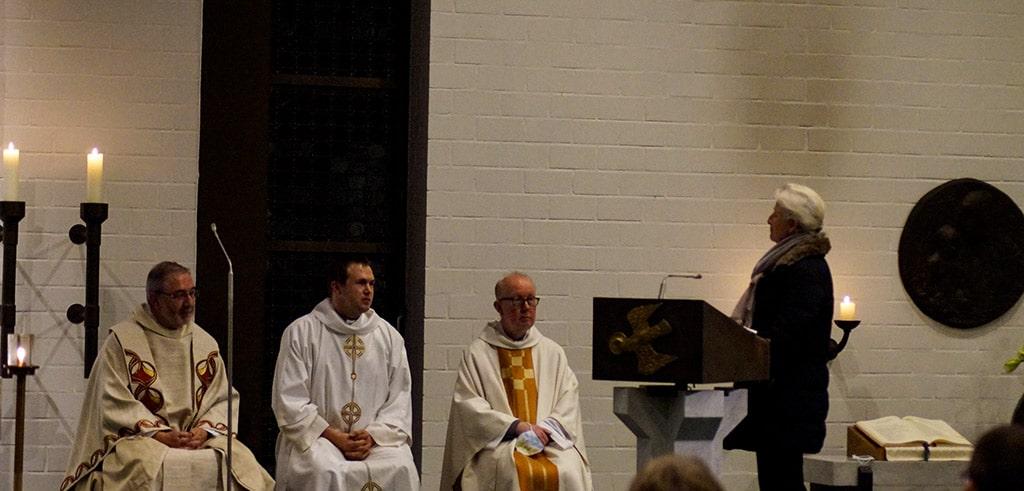 Einführung von Pater Leo in Bad Zwischenahn