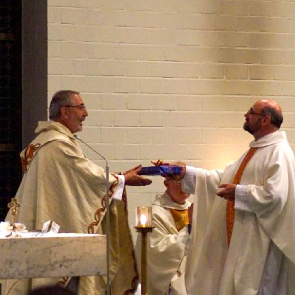 Begrüßung des neuen Pfarrers in Bad Zwischenahn