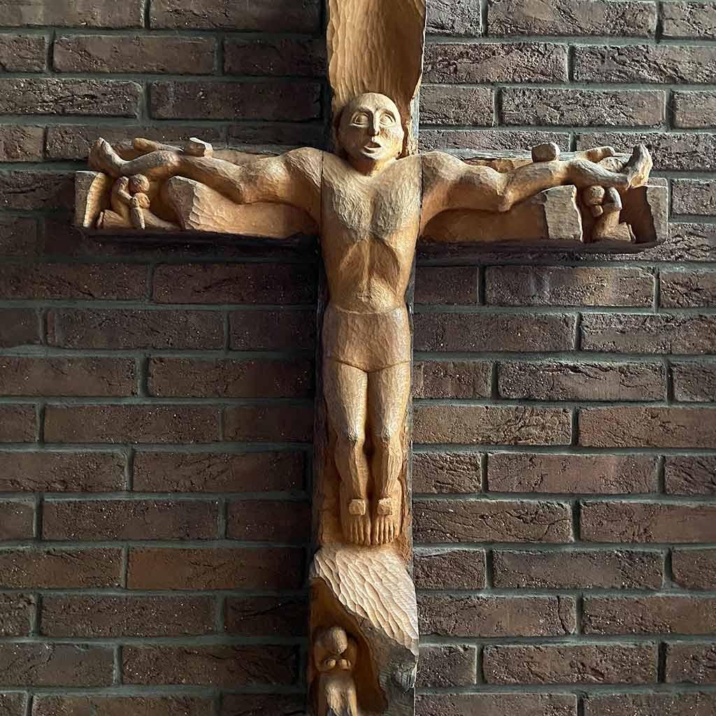 Kreuz der Pallottikirche in Rheinbach