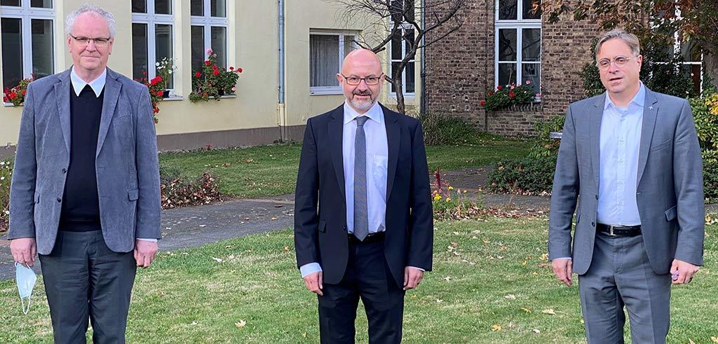 Prfessekonferenz der Pallottiner zur Zukunft in Rheinbach