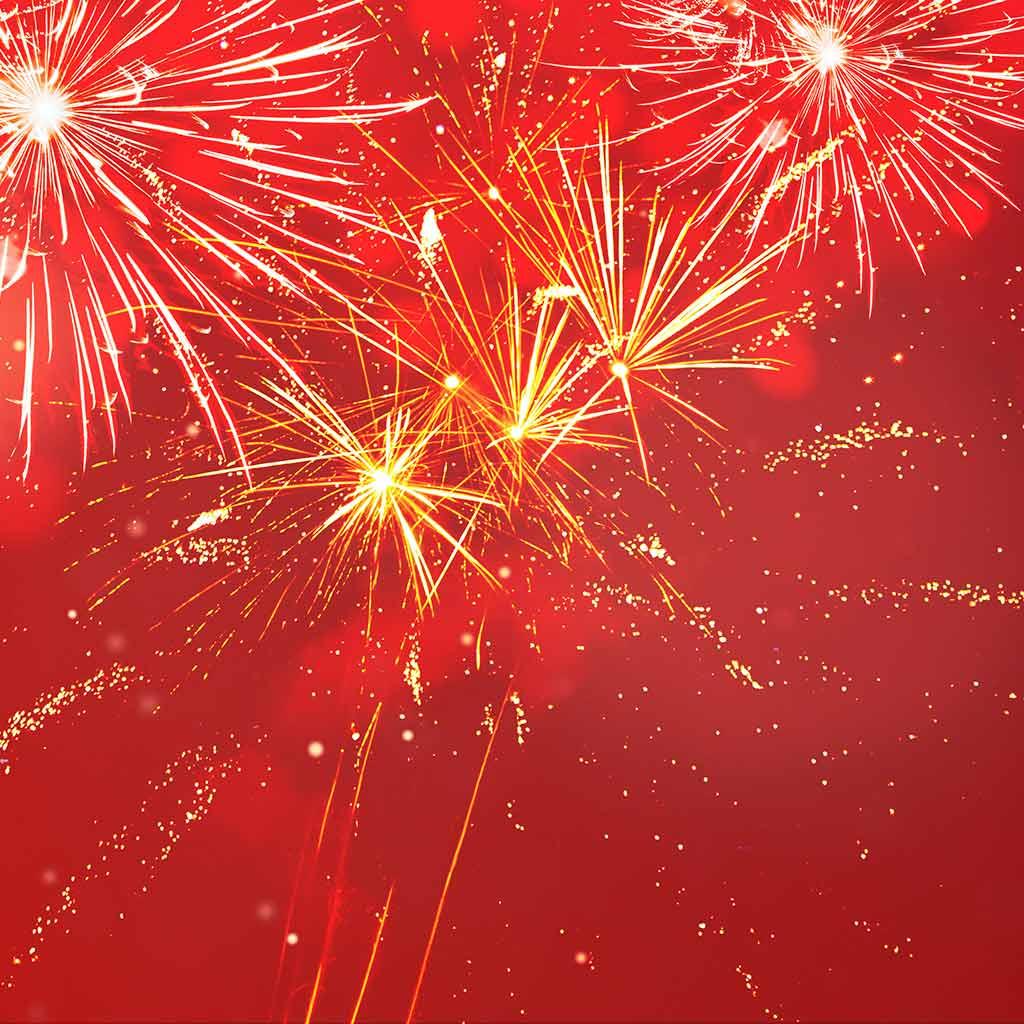 Gutes neues Jahr - Feuerwerk