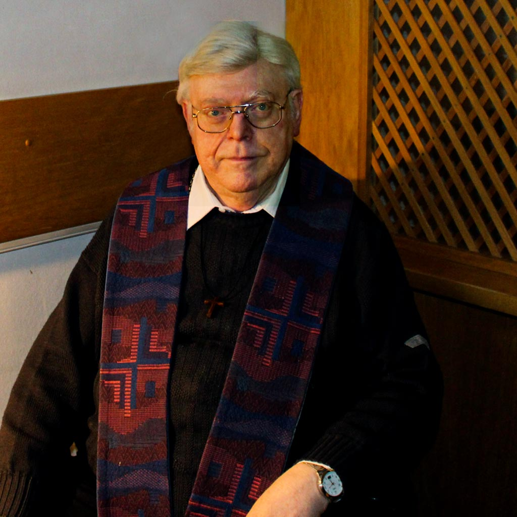 Pater Lothar Fox SAC