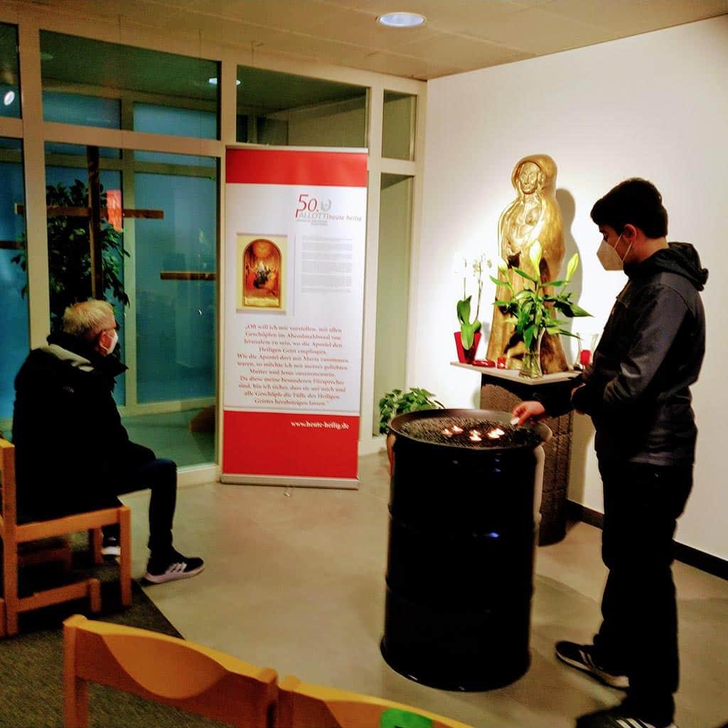 Pallotti-Ausstellung an der Bundeswehrkapelle in Koblenz
