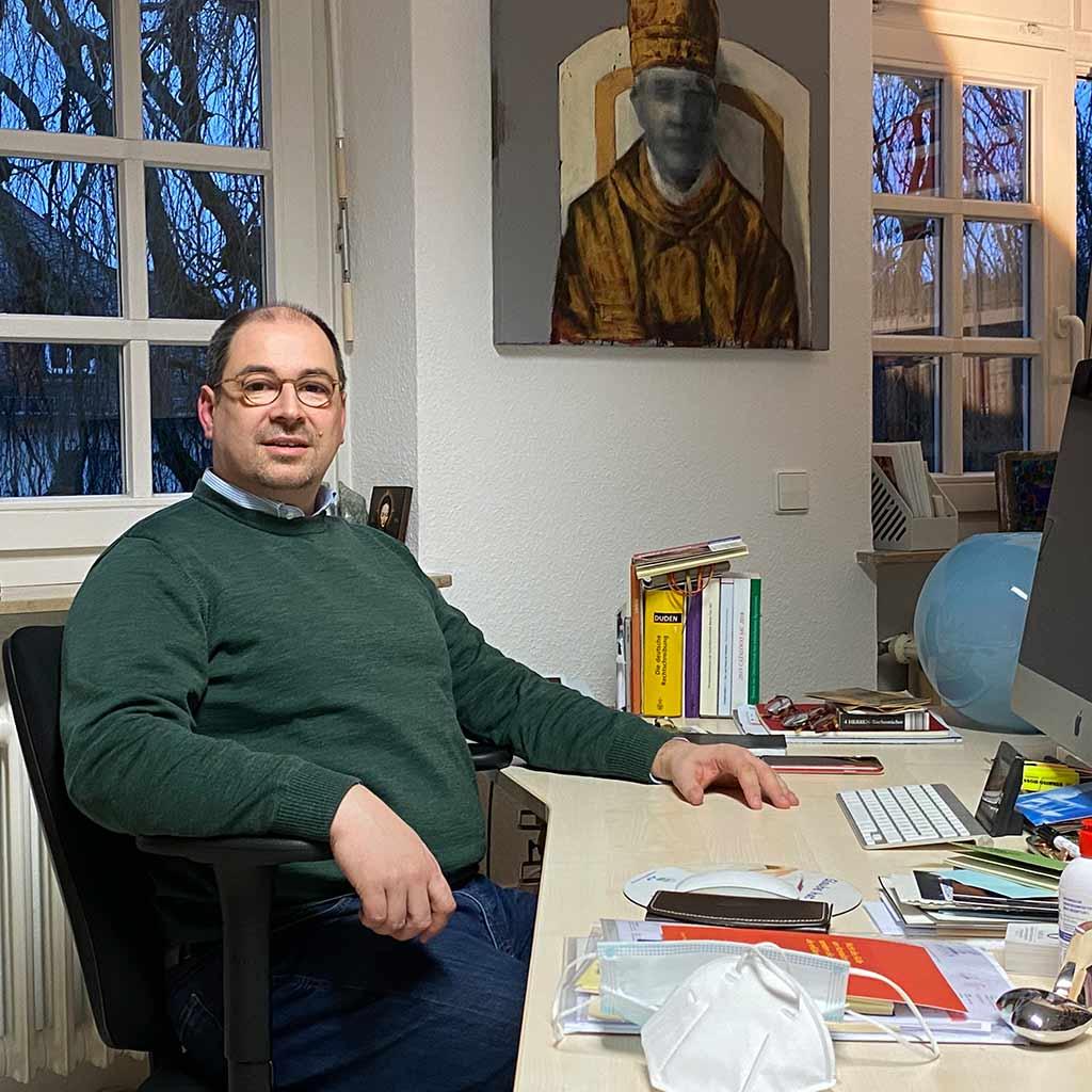 Pater Björn Schacknies SAC in Vallendar