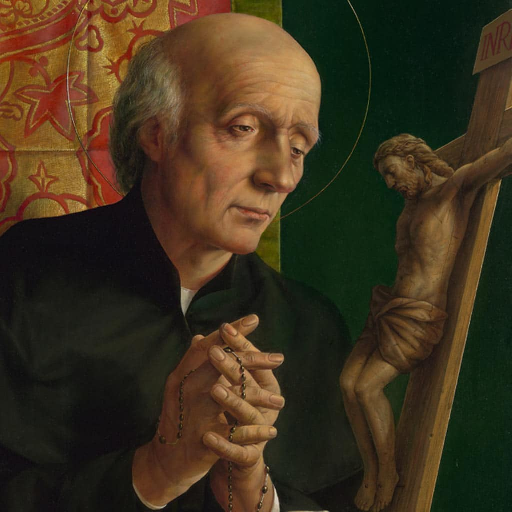 Gemälde Vinzenz Pallotti von Michael Triegel