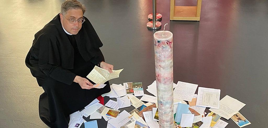 Pater Markus Hau SAC hat alle Briefe gelesen