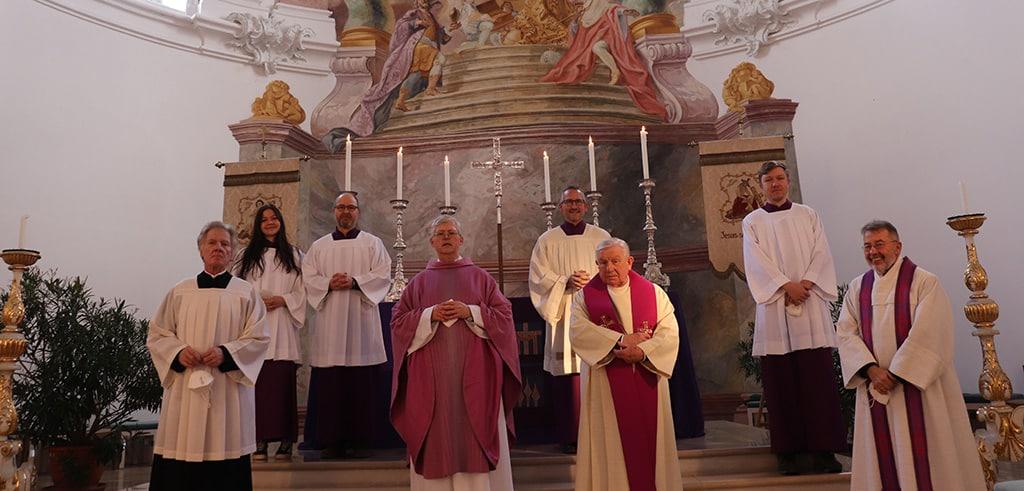 40. Priesterjubiläum von Pater Winkens SAC