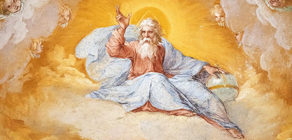 Gottesbilder in der Kunst: Gott als Mann, Herrscher, Vater