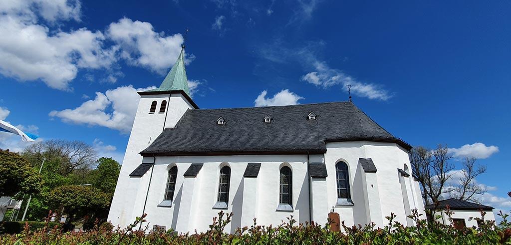 Wallfahrtskirche des Geistlichen Zentrums auf dem Kohlhagen