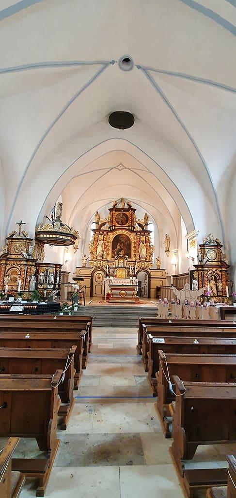 Wallfahrtskirche Mariä Heimsuchung auf dem Kohlhagen
