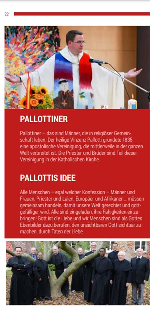 Gästehäuser der Pallottiner Prospekt 2021