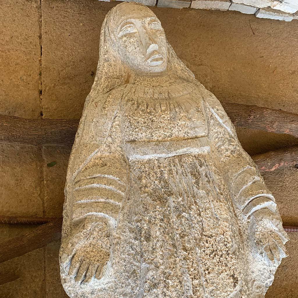 Granit-Madonna aus dem Norden Kameruns