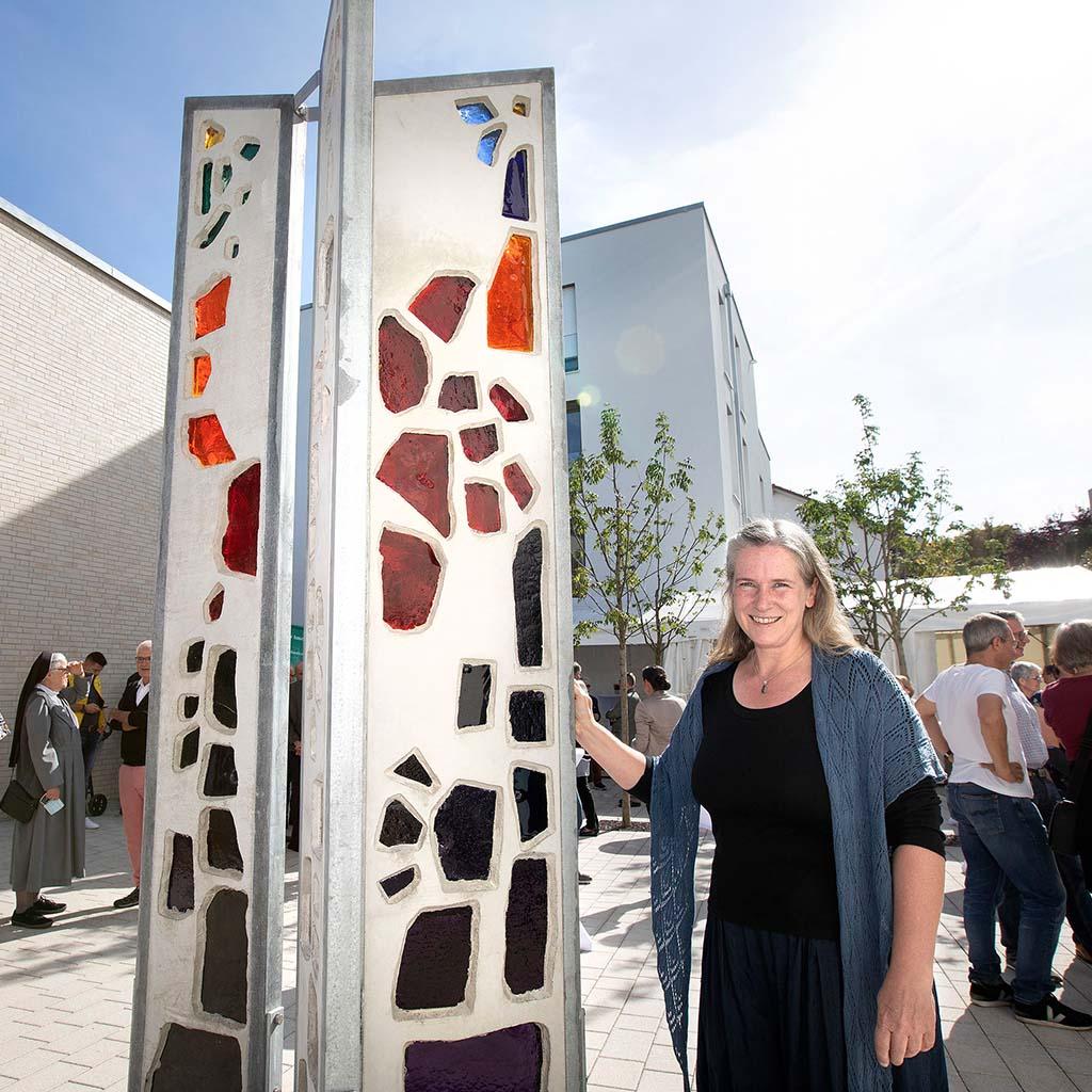 Die Stuttgarter Pallotti-Stele von Anita Lingens-Lauer